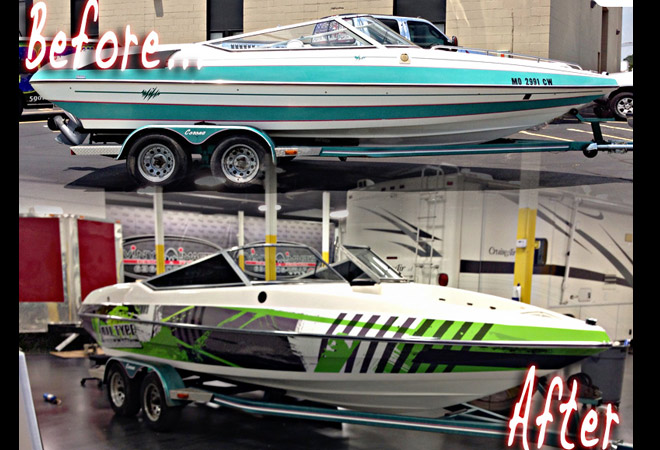Vehicle Wraps Vehicle Graphics Vinyl Wraps Wewrapanything - Boat decal graphics