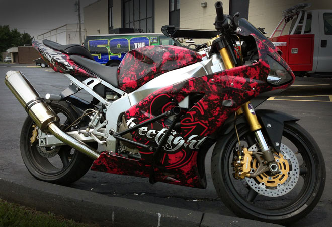 Vehicle Wraps Vehicle Graphics Vinyl Wraps Wewrapanything - Vinyl skins for motorcycles