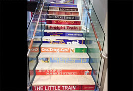 Architectural - Library Stair Graphics