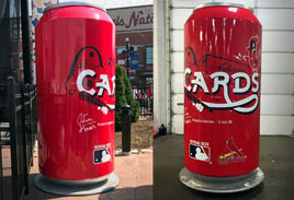 Other - Budweiser Cardinals Baseball Can