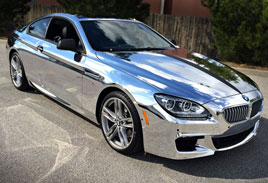Chrome BMW M6
