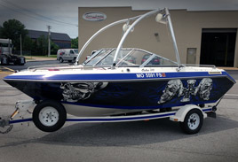 Boat Wrap / Graphics - Boat Vinyl