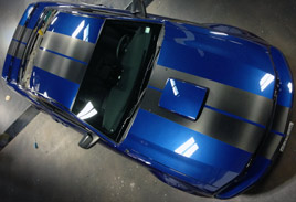 Mustang Racing Stripes - Striping & Graphics